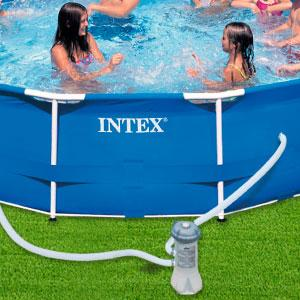 INTEX 28604 Depuradora cartucho Filtros tipo A, 2006 L/h: Amazon ...