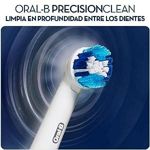 Oral-B Precision Clean Cabezal de Recambio 8+2 uds.  Amazon.es ... cf4be4c61aaf