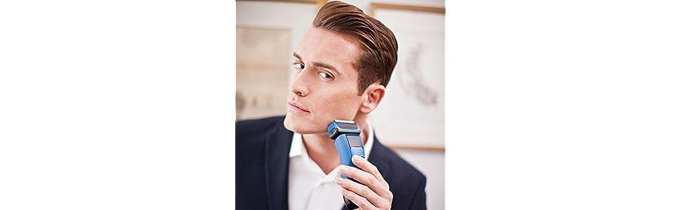 Remington Smart Edge - Afeitadora inalámbrica, tecnologías Active ...