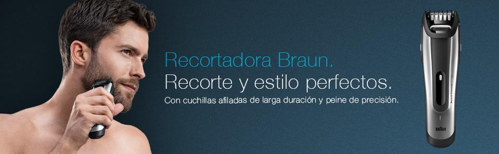 Recortadora Braun BT5090: máxima precisión para un estilo perfecto