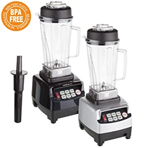 Ultratec Batidora de vaso 2 litros - batidora de alta potencia con ...