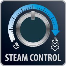Posición de control del vapor Silence Steam Extreme