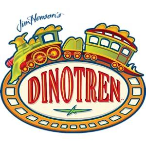 TOMY;dinotren;interactivo;logo