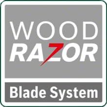 Cepillo eléctrico Bosch, Sistema de cuchillas Wood razor, Wood razor, Bosch PHO 2000,