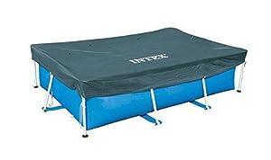 Cobertor rectangular de medidas: 400 x 200 cm y con voladizo de 20 cm, fabricado con vinilo resistente.
