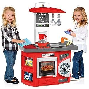 Cocina Infantil Molto Kitchen Roja: Amazon.es: Juguetes y juegos