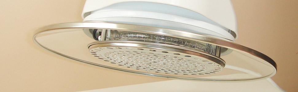 El horno va equipado con una tapa de cristal templado de alta resistencia y dispone de un sistema de seguridad en el asa.