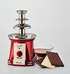 Ariete 2962 Chocolate Fountain Party Time Fuente, Rojo: Ariete ...