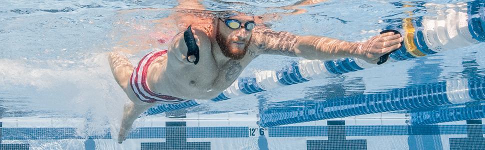 Finis Skull Paddel Instinct Sculling Palas de Mano para natación ...