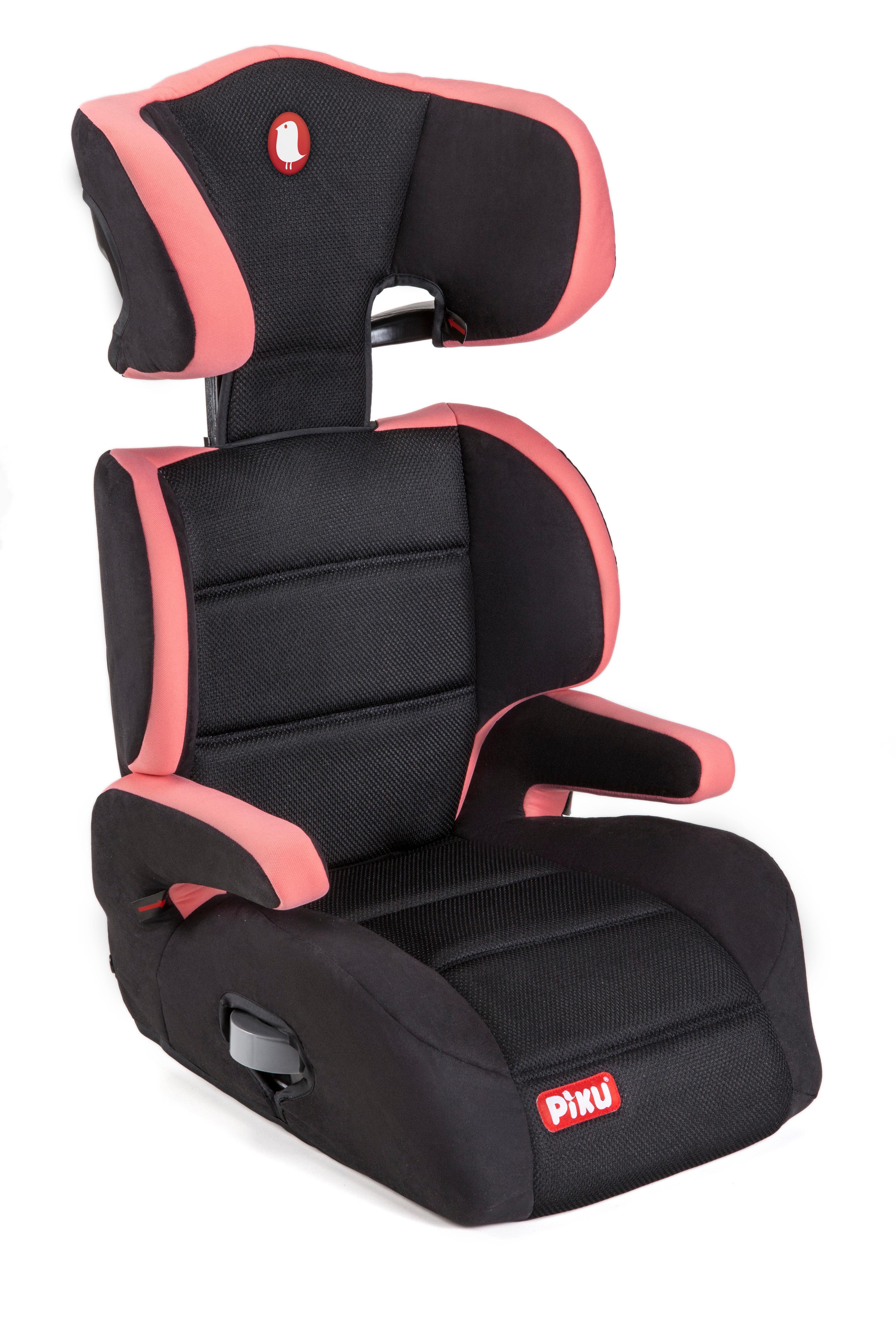 Piku 6228 silla de coche grupo 2 3 rosa negro deportes y aire libre - Piku silla coche ...