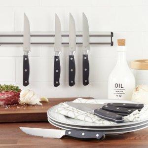 AmazonBasics - Juego de 8 cuchillos de carne: Amazon.es: Hogar