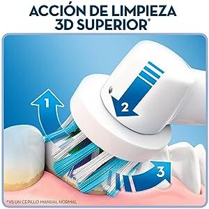 Oral-B Pro 2000 - Cepillo de dientes eléctrico recargable c6f49ef59bfd