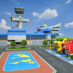Super Wings - Aeropuerto Internacional Super Wings Jett