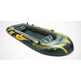 Intex Seahawk 3 - Barco hinchable, 295 x 137 x 43 cm: Amazon.es ...
