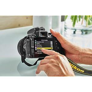 Nikon D5500 - Cámara digital Reflex de 24.2 MP, color