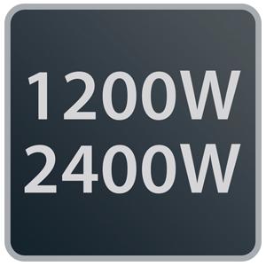Rowenta Atlas Silence SO5115 Ajuste eléctrico de hasta 2.400W