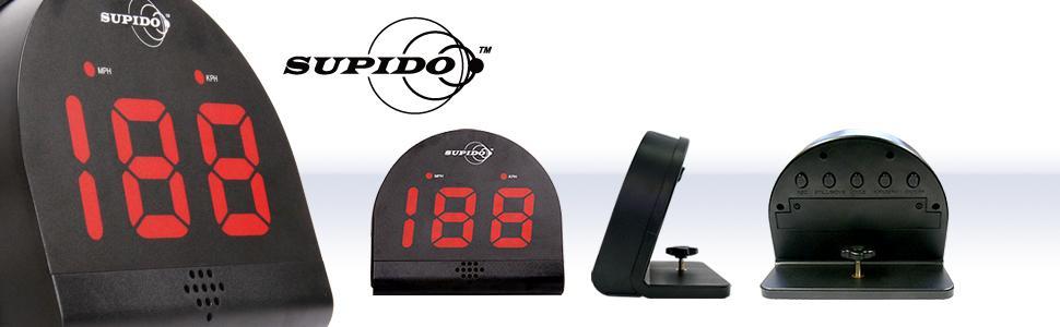 Second Chance Supido LC/0040 - Supido Medidor de Velocidad Personal multideportivo, Instrumento de precisión para Entrenamiento