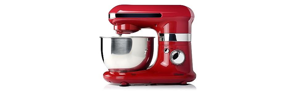 Tristar MX-4170 - Robot de cocina con bol de acero inox, 4.0 L ...