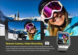 DAM - Smartwatch Ártemis BT Black. Cámara de Fotos y vídeo integrada. Admite Tarjeta SIM y Micro SD de hasta 32GB.