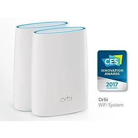 Router; AC; Tribanda; Orbi; Netgear; Satélite; WiFi; cobertura; RBK50; RBR50; RBS50; kit Orbi;