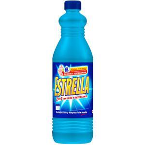 Estrella limpahogar con lejía y detergente azul 1,5L: Amazon.es