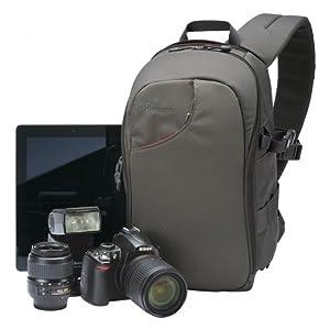 Lowepro Transit Sling 150 AW - Mochila para cámaras, Gris: Amazon ...