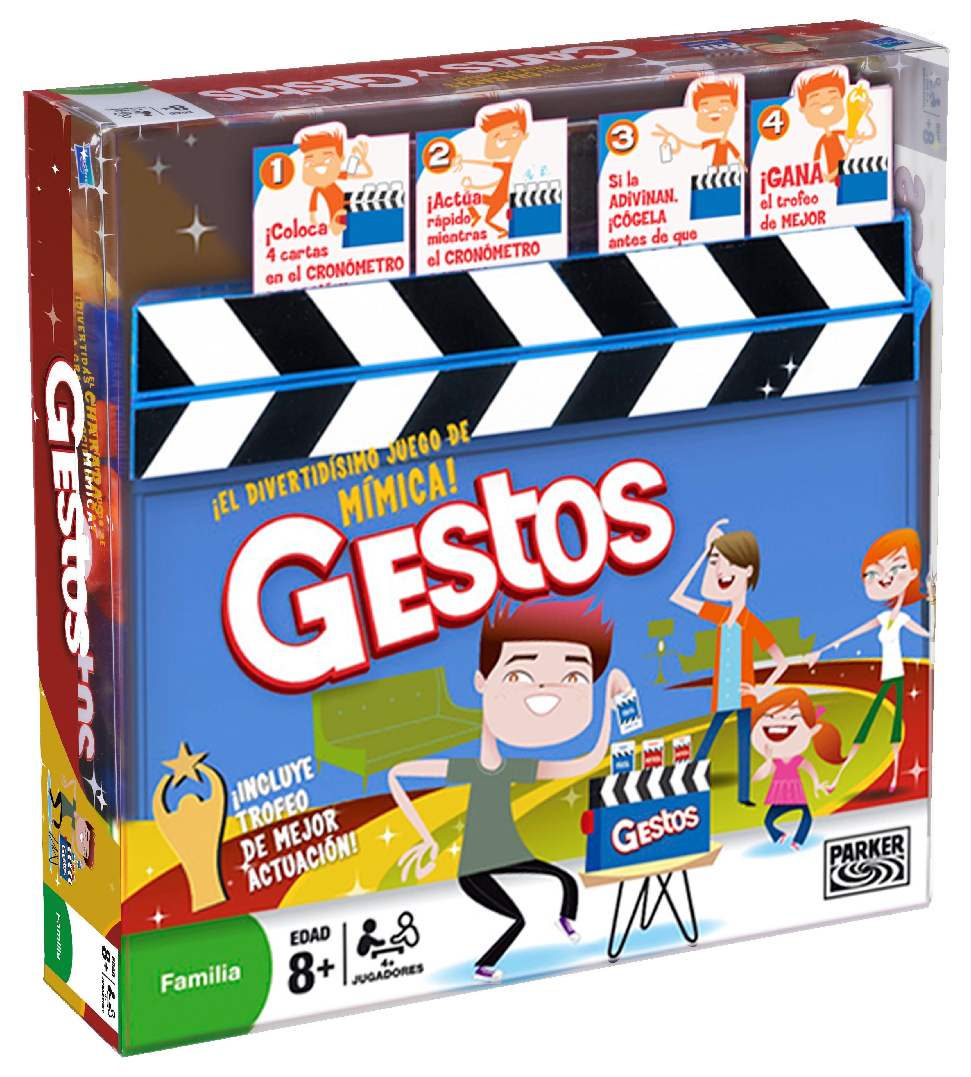 Hasbro Gaming - Juego de Preguntas Gestos (04257105) (versión ...