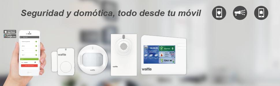Wattio SEGURITY Pack de Seguridad: Wattio: Amazon.es: Bricolaje y herramientas