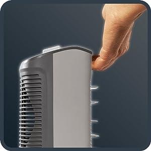 calefactor ventilador facil de transportar