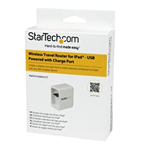 Mini Router Portátil para iPad, Tablet y Portátil