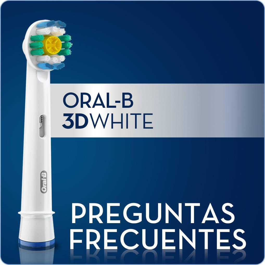 Oral-B 3D White - Cabezal de Recambio, Set de 3 Recambios