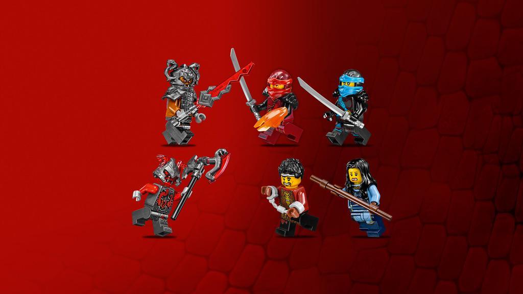 Lego Ninjago - Forja del dragón (70627): Amazon.es