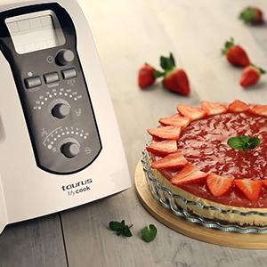 Taurus Mycook Easy Robot de Cocina por induccion, 1600 W