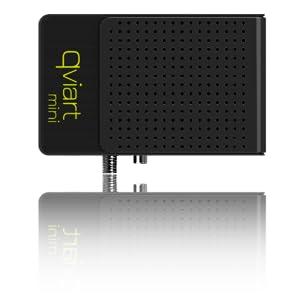 QviART Mini QVI01004 - Receptor satélite HD (USB, HDMI, IEEE 802.3u), color negro: Amazon.es: Electrónica