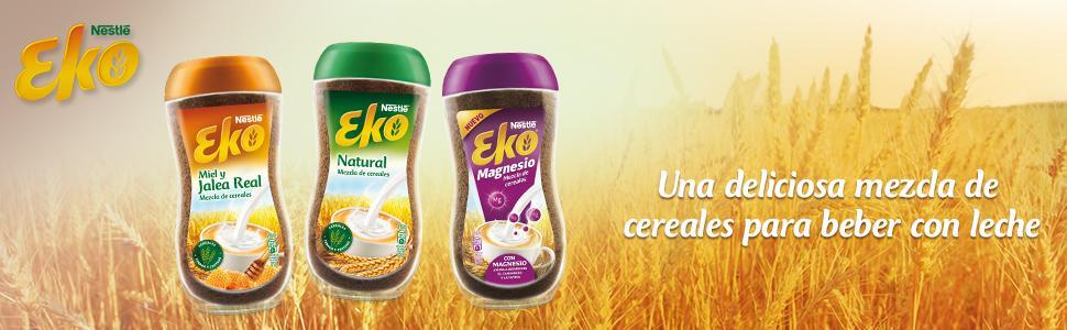 Eko Nestle, Nestle Eko, Eko cereales, Eko, Eko de Nestle, Gama