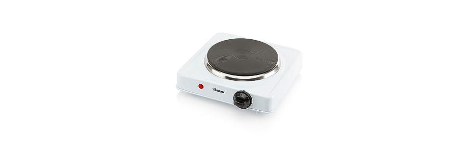 Tristar KP-6185 - Placa de cocción con termostato, diámetro de 15 ...
