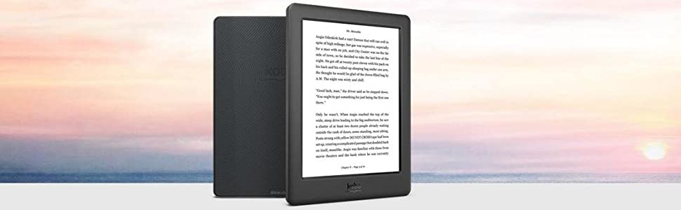 Kobo - Libro Electrónico E-Reader Kobo GLO HD - Ebook: Amazon.es ...