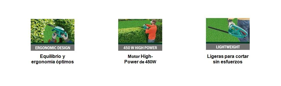 Bosch Home and Garden 0.600.847.D00 Bosch Cortasetos AHS 60-16 ...