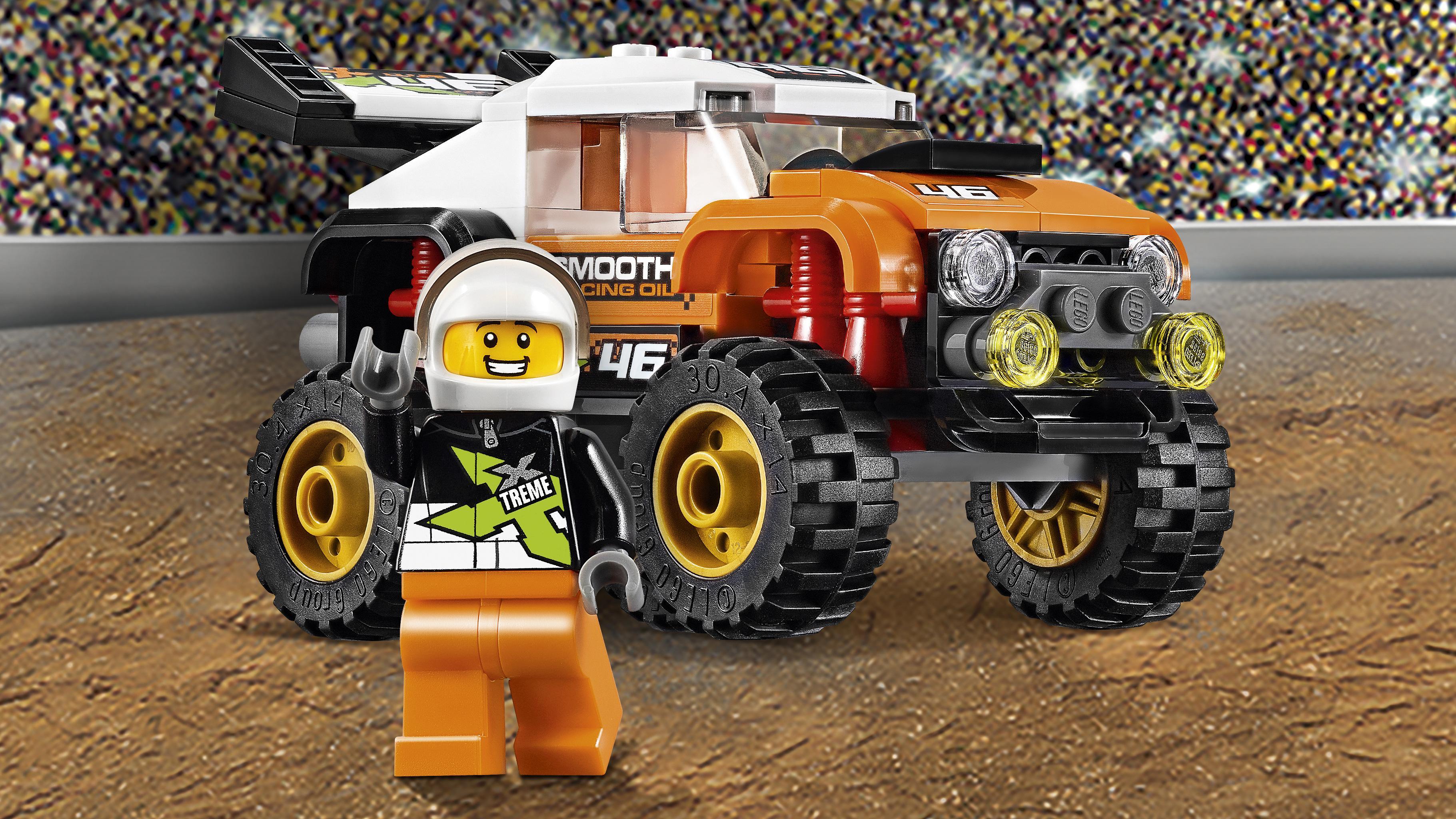 LEGO City Camión acrobático, Multicolor, Miscelanea (60146
