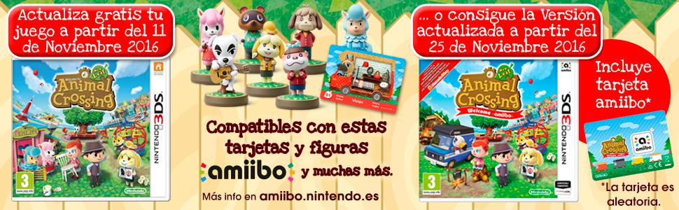 Animal Crossing: New Leaf Welcome amiibo! + Tarjeta amiibo ...
