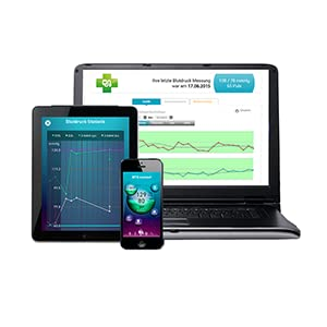 Con Bluetooth para transferencia de datos a Smartphones
