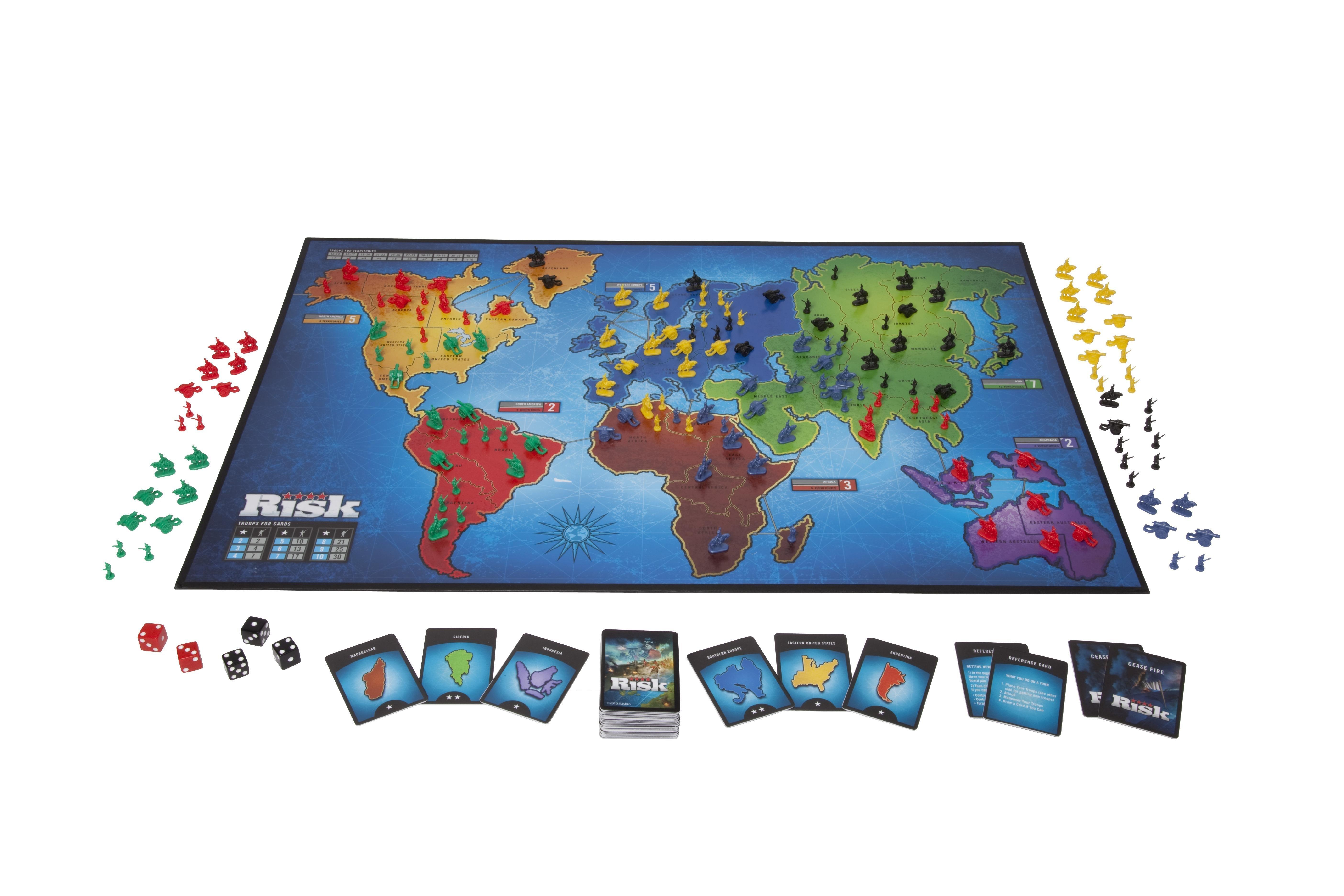 Amazon.es: Hasbro Gaming - Risk, juego de estrategia