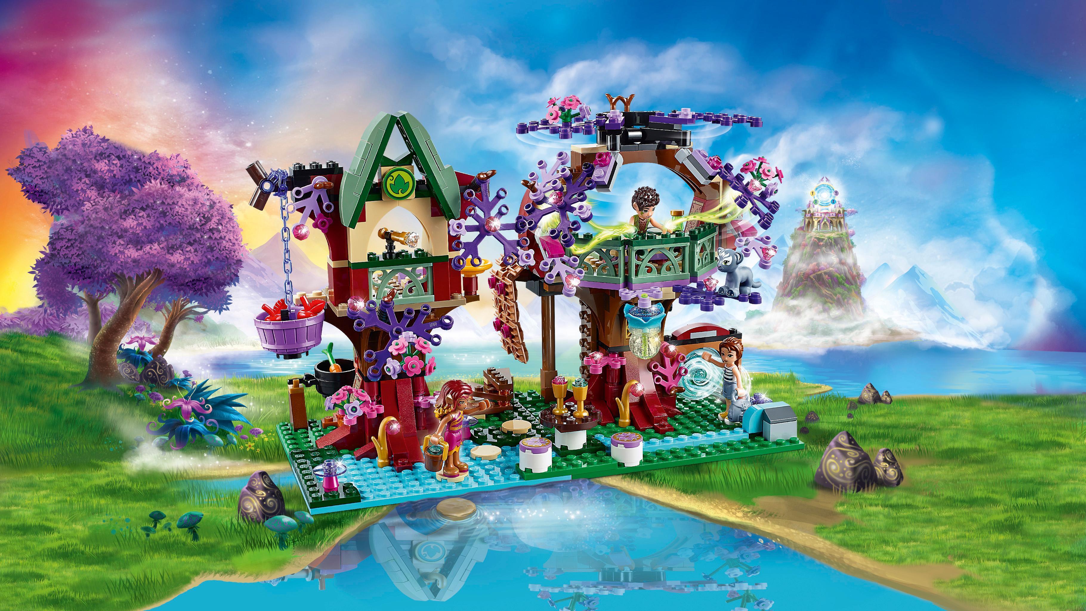 LEGO Elves - Refugio del árbol de los Elfos (6100708