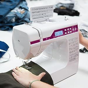 Resultados eficientes para cualquier necesidad: La máquina de coser Levivo NC1