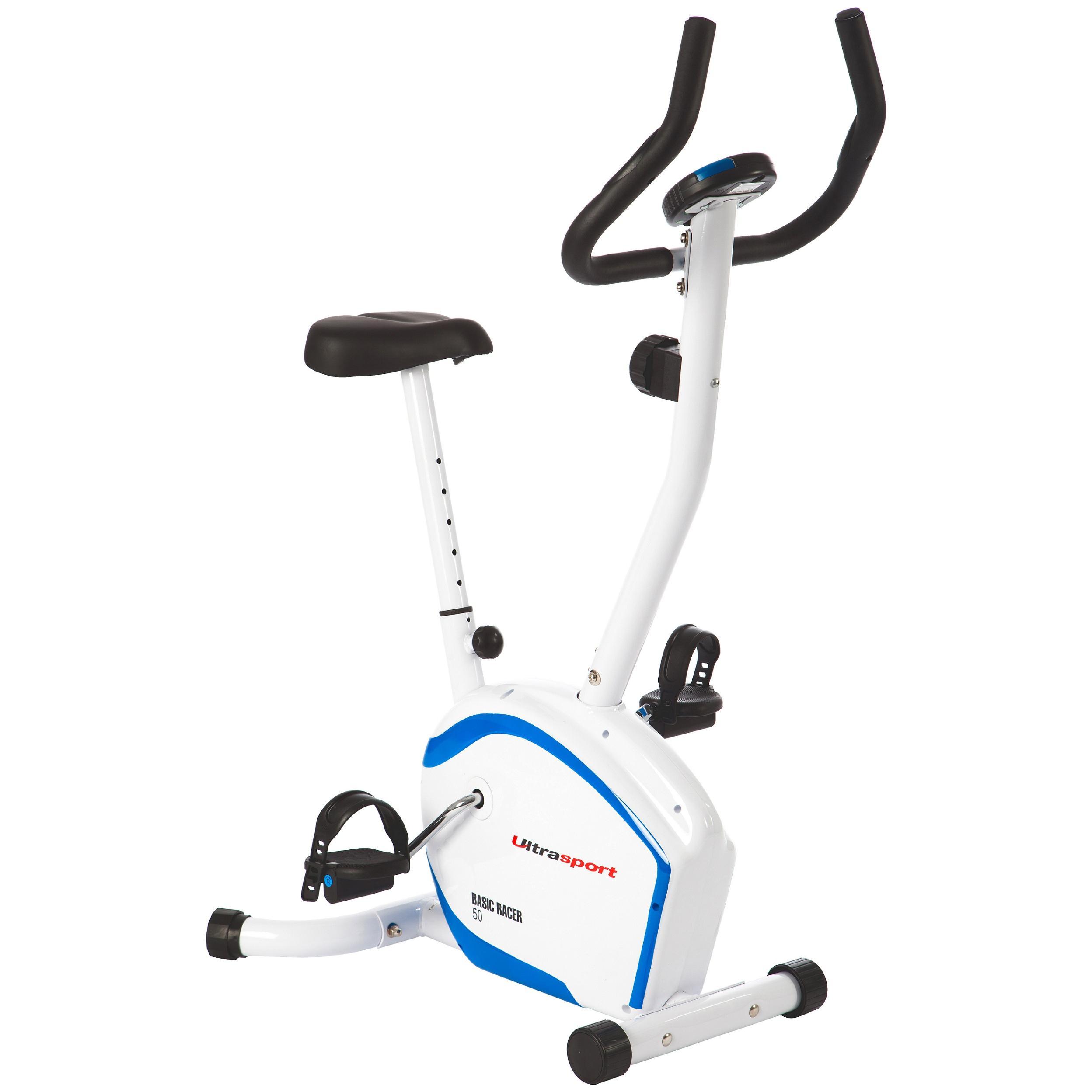 Ultrasport Racer 50 - Bicicleta estática ergométrica: Amazon.es ...