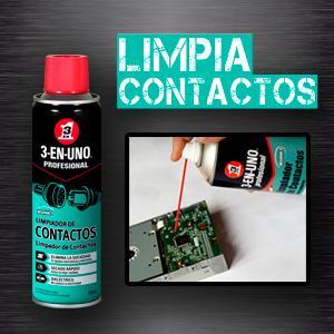 LIMPIADOR DE CONTACTOS 3-EN-UNO