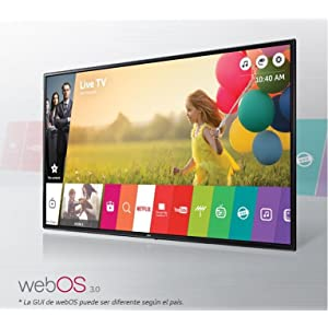 LG 49LH590V - Televisor LED Full HD de 49