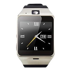 Tera Aplus Pulsera Reloj Inteligente GSM Podómetro Selfie Control Remoto con Pantalla Táctil 1,54
