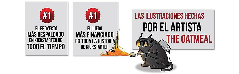 Exploding Kittens: Un Juego de Cartas - En Inglés: Amazon