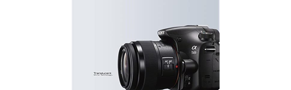 Sony SLT-A58K - Cámara de formato medio de 20 Mp (objetivo 18-55mm ...